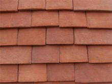 Developer range Handmade Heritage shingles colour RED